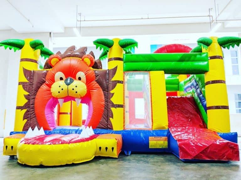 Lion Kingdom Bouncy Castle