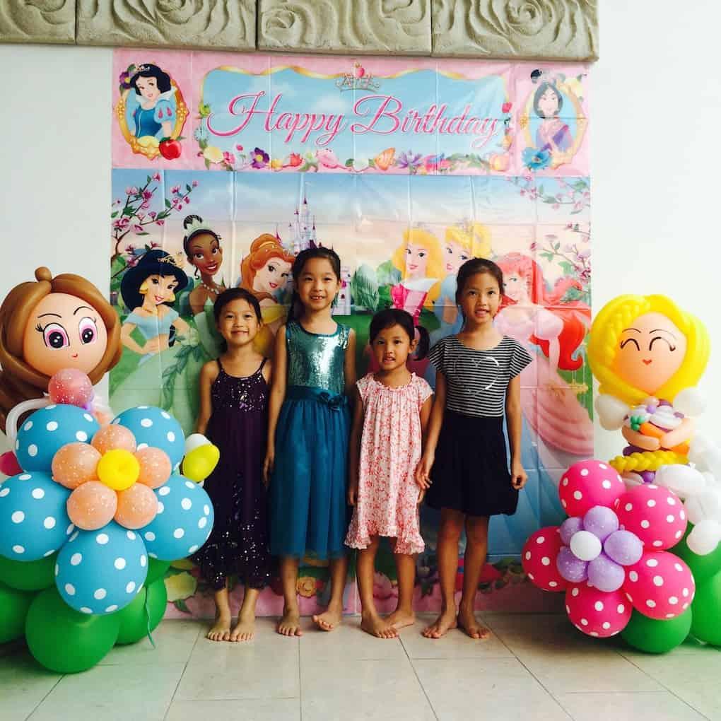 Balloon Princess Party Singapore