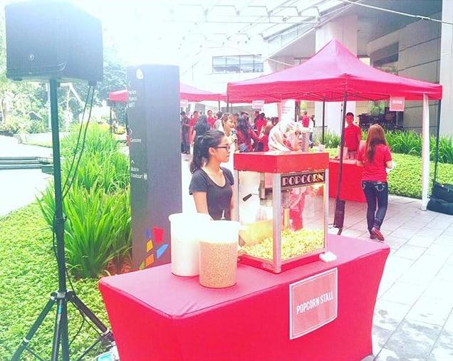 Popcorn Stall Rental Booth