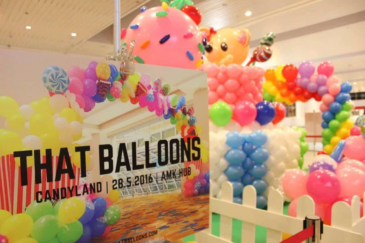 AMK Hub Balloon Candy Land