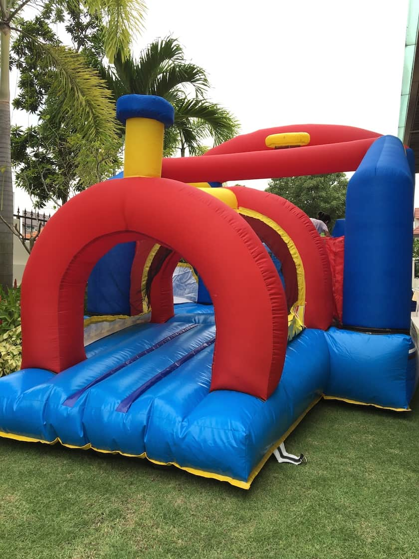 Train Bouncy Castle