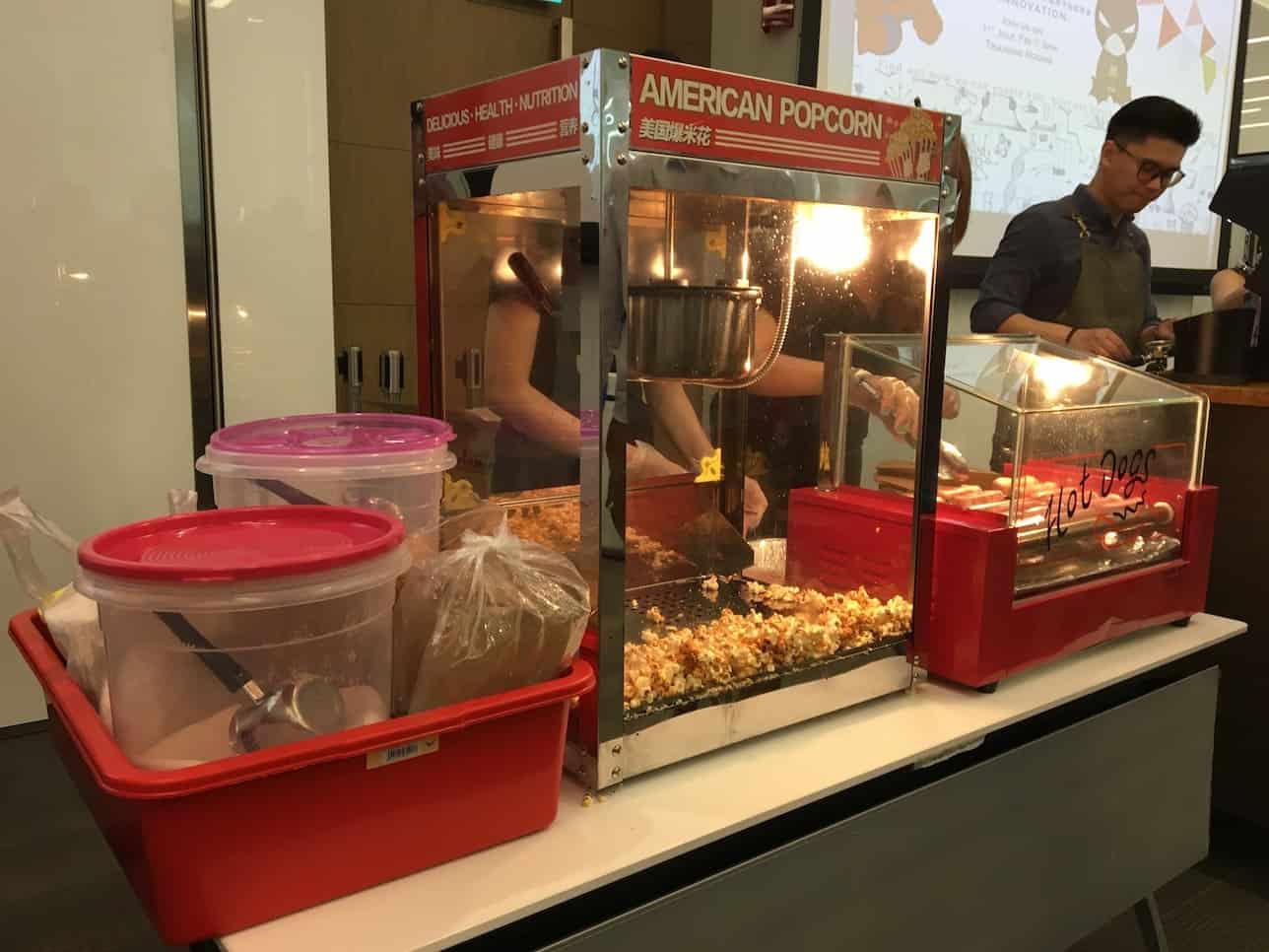 Popcorns and Hotdog Stall