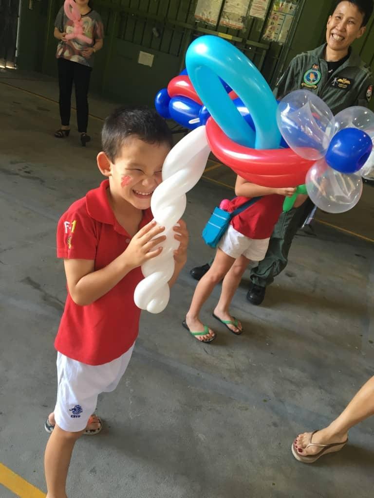 Aeroplane Balloon Sculpture