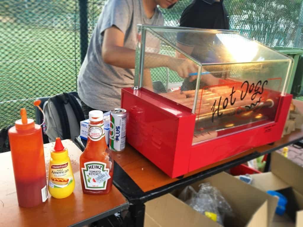 Hotdog Bun Stall Event Singapore