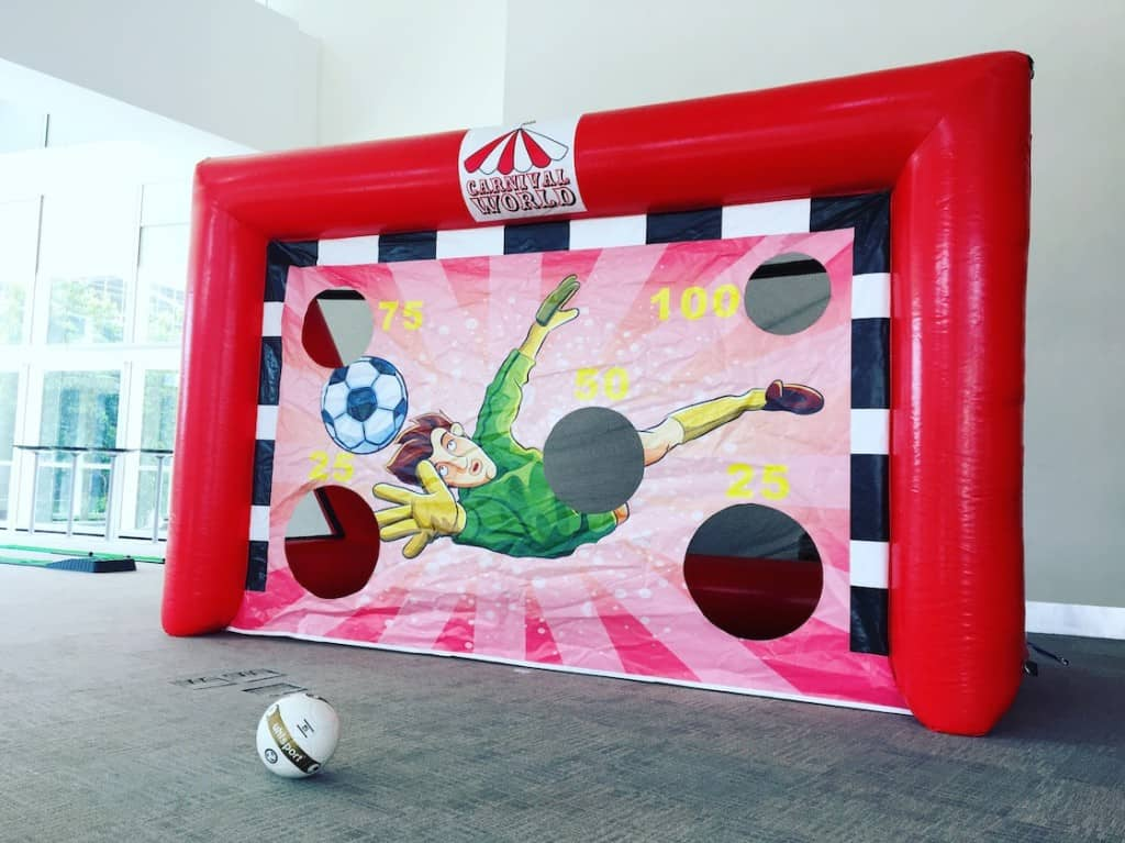 large-soccer-inflatable-game-rental