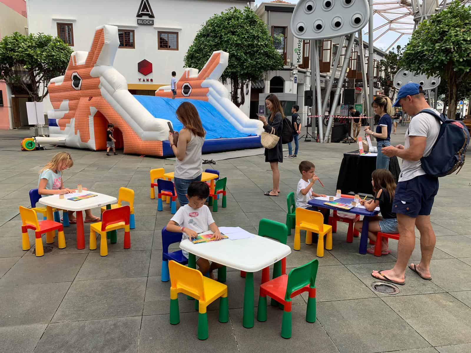 Bouncy Castle Carnival Event Equipment Rental Singapore