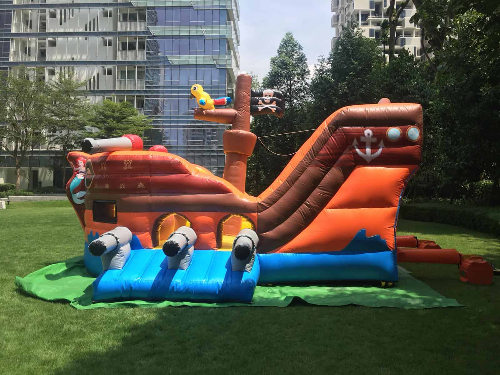 Pirate Ship Bounce House for Events
