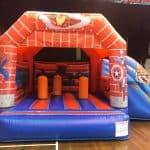 Super Heroes Bouncy Castle Rental