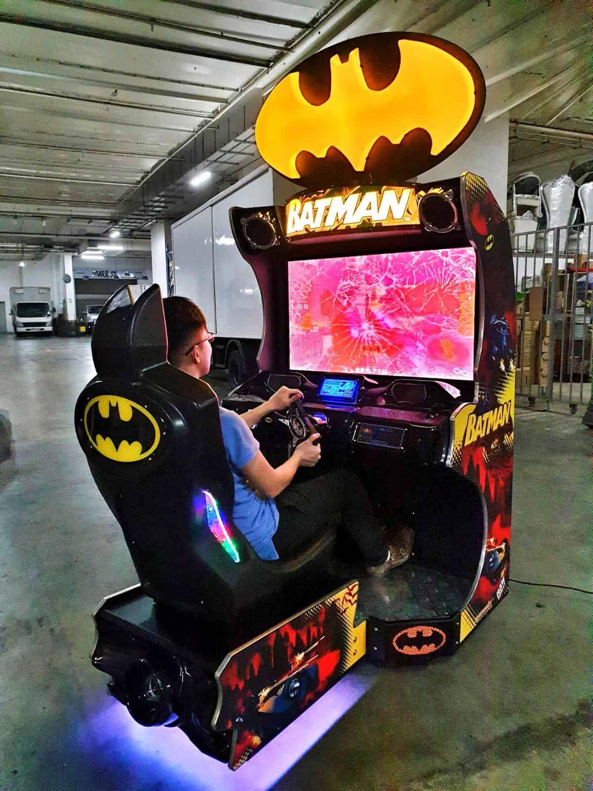 Arcade Racing Batman Machine for Rent