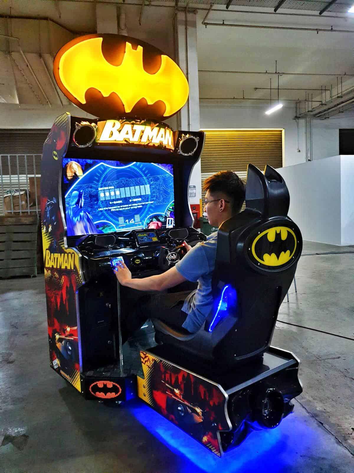 Batman Racing Game for Carnival Rental