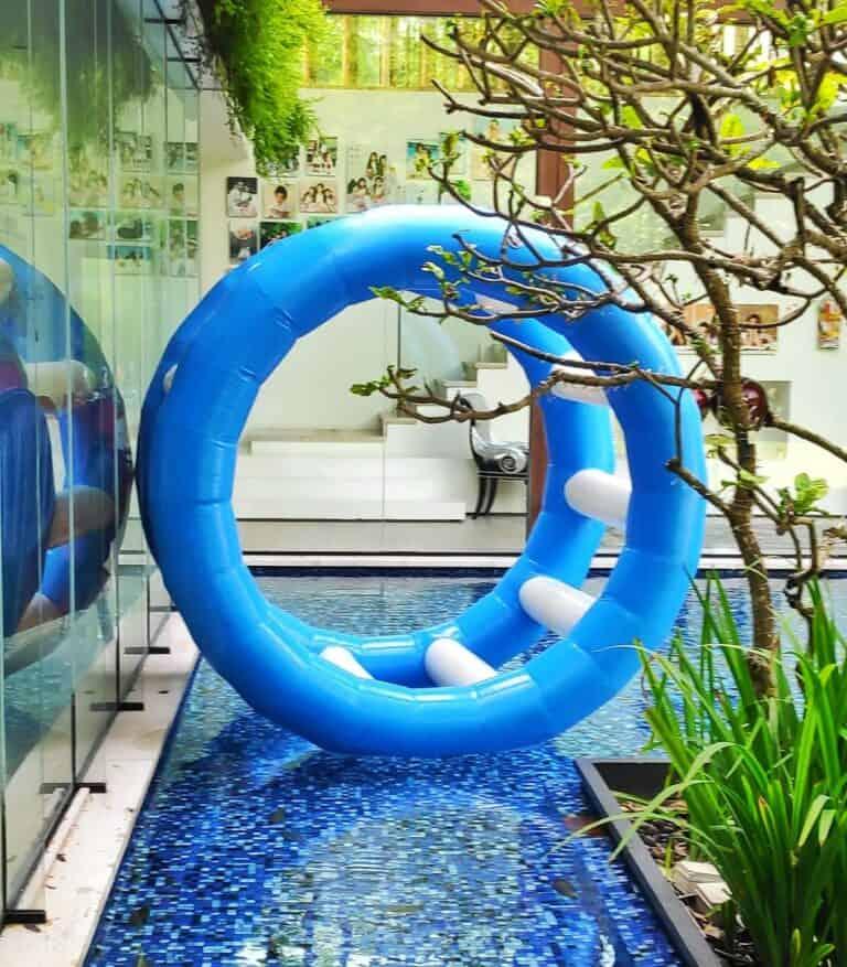 Inflatable Hamster Wheel