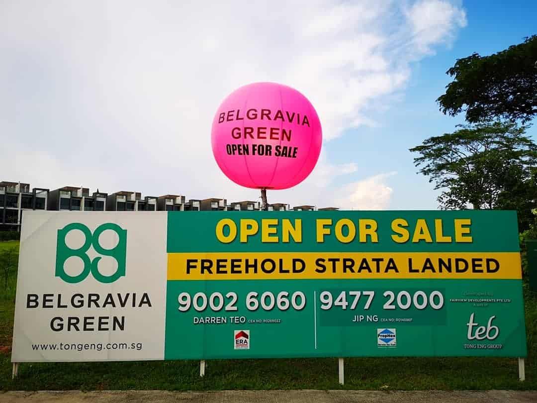 Pink-Tripod-Balloon-Stand-Singapore